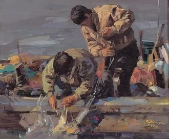 """미술관옆 물놀이장개장기념 """"고기를 잡으러~ 산으로... 바다로...""""展"""