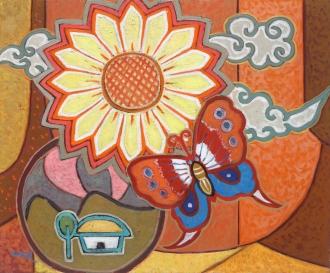 축제·꽃과 나비