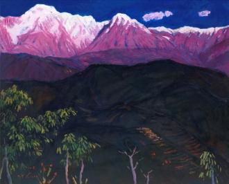새벽의 안나푸르나