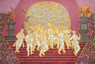 축제·춤추는 태양