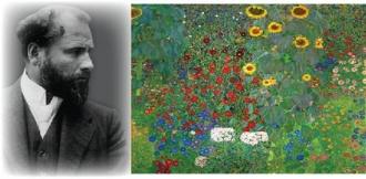 4월 문화가 있는 날 - 명화의 재구성 <클림트 - 꽃이 있는 정원 : 정원 만들기>
