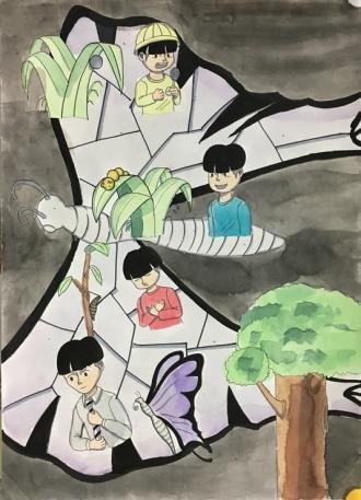 함평나비대축제기념 2018 오당안동숙전국미술대회 입선 중고등부 당선작 모음