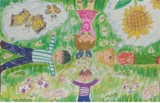 함평나비대축제기념 2019 전국미술대회 최우수상 당선작