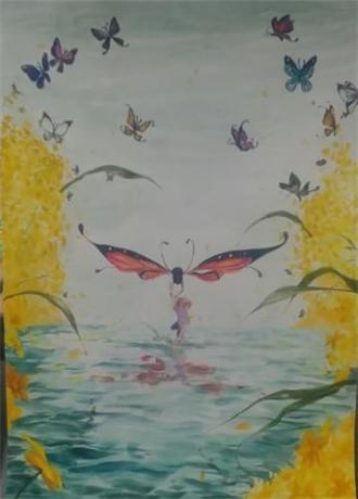 함평나비대축제기념 2019 전국미술대회 입선 중고등부 당선작 모음